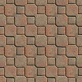 Patio Pavers. Seamless Texture Tile from Photographic Original stock photography