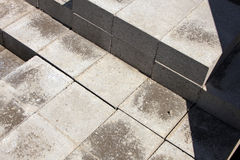 Patio Pavers Royalty Free Stock Photo