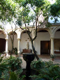Patio reservado de Córdoba imagen de archivo libre de regalías