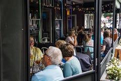 Patio Restaurant – Roanoke, Virginia, USA Stock Photos