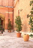 Patio in Sienna Stock Photos