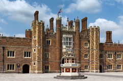 Patio of the source, Hampton Court Palace, London Royalty Free Stock Images