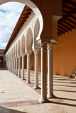 Patio in Spanish style. Israel Stock Image