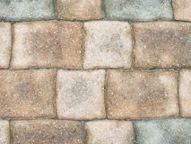 Patio stones. Stone pattern of a terrace Royalty Free Stock Image
