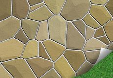 Patio tiles Stock Image