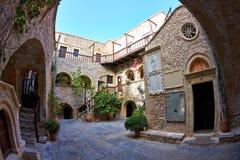Patio Toplu monastery Royalty Free Stock Photos