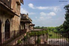 Patio trasero del palacio Imagen de archivo libre de regalías