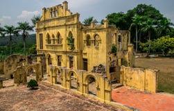 Patio trasero Ipoh Malasia del castillo de Kellies Imagen de archivo