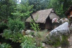 Patio tribal Imagenes de archivo