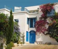 Patio tunecino Imagenes de archivo