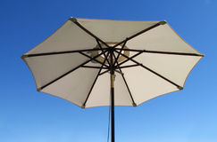 Patio umbrella Stock Image