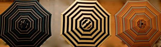 Patio Umbrellas Stock Photo