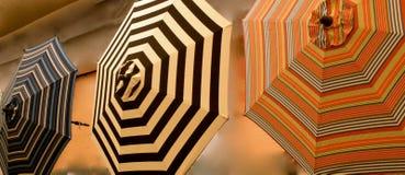 Patio Umbrellas Royalty Free Stock Photo