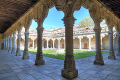 Patio of University of Salamanca, spain Stock Photo