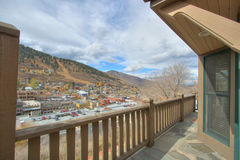 Patio View royalty free stock photography