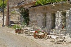 patio wioska zdjęcie stock