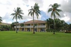 Patios. & balconies at a golf resort, Miami, Florida Stock Photos