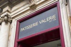 Patisserie Valerie Cafe in Londen Stock Fotografie