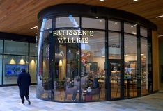 Patisserie Valerie for cakes, coffee and tea stock photo