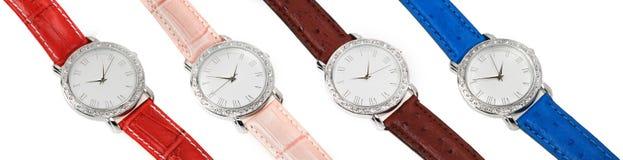 patka kolorowy cztery ustalonego zegarka obrazy stock