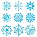 płatki śnieżni Zdjęcia Royalty Free