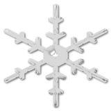 płatkiem śniegu Obraz Royalty Free