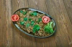 Patlican salatasi Obraz Royalty Free