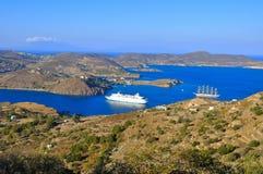 Patmos Fotografie Stock