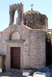 Patmos church Stock Image