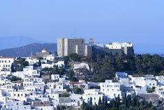 Patmos greek island royalty free stock image