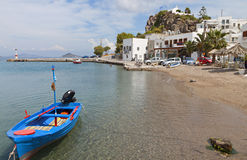 Patmos island in Greece. Stock Image