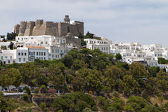 Patmos island in Greece. Royalty Free Stock Image