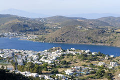 Patmos Island,Greece. Royalty Free Stock Images
