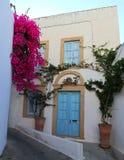 Patmos La migliore destinazione di Mediterranian fotografia stock libera da diritti