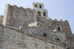 Patmos, Monastery of St. John Royalty Free Stock Image