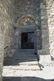 Patmos monastery of st John Royalty Free Stock Images