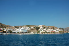 Patmos Skala Royalty Free Stock Photography