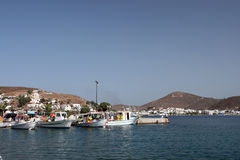 Patmos skala Stock Photography
