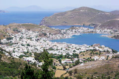 Patmos royalty free stock images