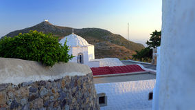 Patmos view Royalty Free Stock Photo