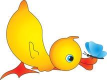 Pato stock de ilustración