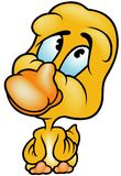 Pato amarillo Imagen de archivo