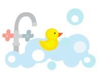Pato amarillo Fotografía de archivo libre de regalías