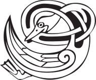 Pato céltico de vikingo Fotos de archivo