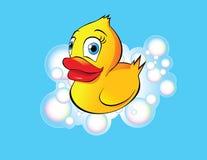 Pato de borracha ilustração do vetor