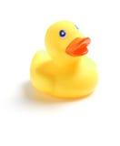 Pato de borracha amarelo Imagens de Stock