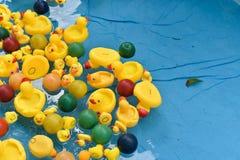 Pato de borracha em uma associação fotos de stock royalty free