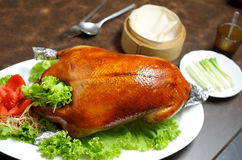 Pato de carne asada Fotos de archivo