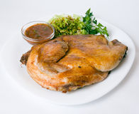 Pato de carne asada Imágenes de archivo libres de regalías