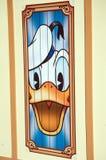 Pato de Donald en Disneylandya foto de archivo libre de regalías
